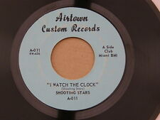 """SHOOTING STARS WATCH THE CLOCK AIRTOWN orig US GARAGE PSYCH 7"""" 45"""