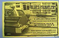 Blues Traveler / G. Love Original Concert Poster MINT!