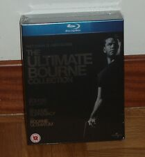 LA TRILOGIA DE BOURNE-PACK 3 BLU-RAY-NUEVO-PRECINTADO-(CASTELLANO)-NEW-SEALED