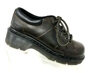 Doc Martens Mens Shoes Oxfords Size 8 Lace Up Leather Steel Toed