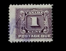 1906 Canada First Postage Due Stamp J1! 1c