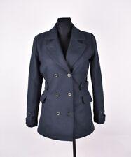 Helly Hansen Women Pea Wool Jacket Coat Size S, Genuine