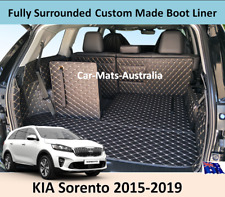KIA Sorento 2015-2020 Full Surrounded Custom Made Trunk Boot Cargo Mats Liner