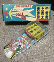 Vintage MARX BOOMERANG skill And Action Pinball Game w/Original Box NICE