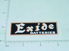 "3"" Wide Exide Batteries Sticker        A-028"