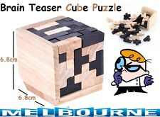 Educational Toy Puzzle Kids Child Brain Teaser 3D Ming Luban Rubiks Cube Gift AU