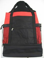 Extra Large Heavy Duty Red and Black Multi Purpose Bag