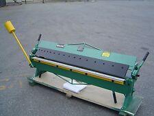 1220mm x1.5mm (48''x16G) Heavy Duty Sheet Metal Panbrake Bender & Folder