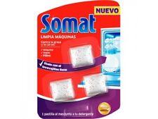 Somat Limpia Máquinas de Lavavajillas (3 unidades) Usar con el lavavajillas ll