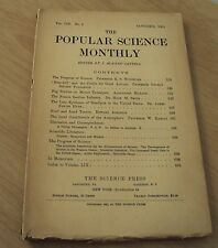 "Original 1901 Magazine/Periodical~"" ;The Popular Science Monthly""~"