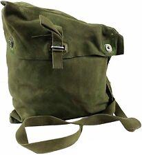 ORIGINALE Militare Cartella a Tracolla Messenger Vintage Borsa pesca TELA