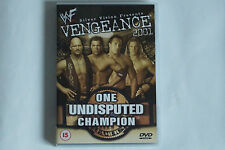 WWE - Vengeance 2001 - One Undisputed Champion (The Rock, Undertaker...) DVD
