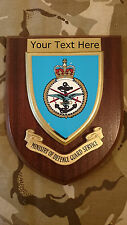 Ministry of Defence Guards Personalised Military Wall Plaque UK Made for MOD