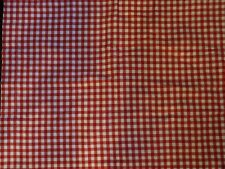 NEW POTTERY BARN BUFFALO CHECK RED WHITE FLANNEL  STANDARD PILLOW SHAM