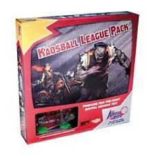 KAOSBALL LEAGUE PACK EXPANSION COOL MINI BOARD GAME BRAND NEW & SEALED CHEAP!!