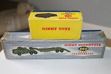 DINKY SUPERTOYS * MIGHTY ANTAR TRANSPORTER & CENTURION TANK * ORIGINAL SET