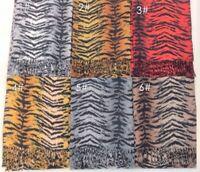 New Pashmina Scarf Winter Very Soft Thick Warm Women Fashion Tiger Skin Pattern