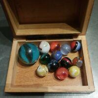 Lot of 13 Vintage Marbles