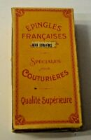 ANCIENNE BOITE D EPINGLE FRANCAISE SPECIAL COUTURIERE COUTURE