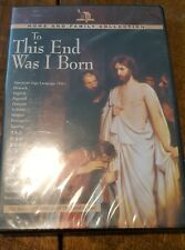 To This End Was I Born - Full Length Version of The Lamb of God (DVD) - NEW