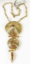 Robert Lee Morris Soho Bronze-Tone Spiral Stone Y-Necklace $95