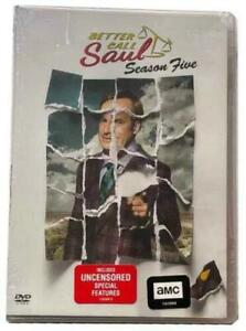 Better Call Saul :The Complete Season 5 DVD Fifth, Free 2-3 Expedited Shipping
