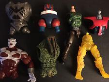 Marvel Legends DC Universe BAF Loose Pieces