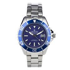 Croton Men's CA301294BUBL Automatic Blue Dial Silver-Tone Bracelet 42mm Watch
