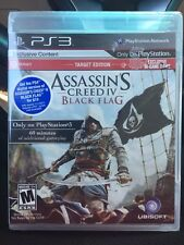 NEW PS3 Assassin's Creed 4 IV Black Flag Sony Playstation 3 *SEALED* Target Edit