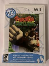 Wii Donkey Kong Jungle Beat Game CIB + Manual Case Nintendo Clean & Tested! nes