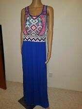 Long maxi dress tribe summer size xlarge