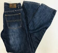 Lucky Brand Billy Straight Youth Girls Dark Wash Jeans Size 18 28 x 30