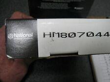 NEW GENUINE NATIONAL BEARINGS TAPERED PINION BEARING (PN HM807044)