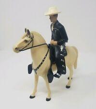 New ListingCustom Hartland Black Cowboy Horse & Rider figure