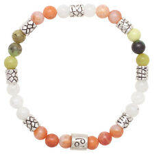 Healing Stones for You: Cancer Zodiac Bracelet with Natural Stones