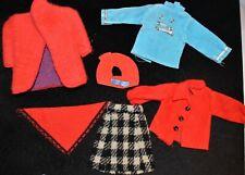 Vintage lot Barbie or Friends Mattel Fashion Doll Clothes CLONE Tressy