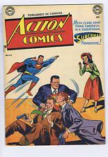 Action Comics #133 Simcoe 1950 CANADIAN EDITION, BATMAN story