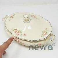 Vintage Homer Laughlin Virginia Rose F59N4 China, Casserole, Gravy Dish, Bowl