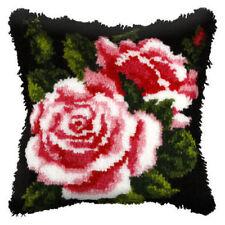 Pink Rose Gancho De Cierre Amortiguador Delantero Kit. Orchidea, 40x40cm Lona Impresa