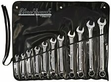 Blackhawk By Proto BW-11PT 12 Point Combination Wrench Set, Full Polish 11-Piece
