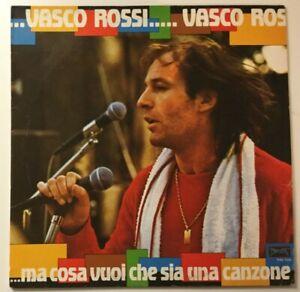 """VASCO ROSSI """"...MA COSA VUOI CHE SIA UNA CANZONE"""" LP 1982 PHOENIX VINILE"""