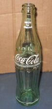 VINTAGE COCA COLA COKE GLASS BOTTLE HOBBLE SKIRT 10 FL OZ KANSAS CITY MISSOURI