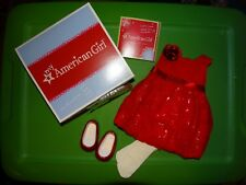NEW Red Sparkle Party Dress, Shoes and Headband COMPLETE - NIB
