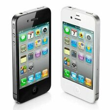 Apple iPhone 4 8GB Black Factory Unlocked 3G LTE Smartphone Grade C