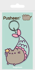 PUSHEEN THE CAT PURRMAID RUBBER KEYRING NEW OFFICIAL MERCHANDISE