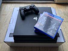 PS 4 pro +3 Jeux
