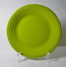 "2 Fiesta LEMONGRASS 10-1/2"" Dinner Plates EXCELLENT"