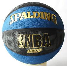 Rare 2008 Spalding Gold Highlight Nba Outdoor Basketball Ball Size 7 New !