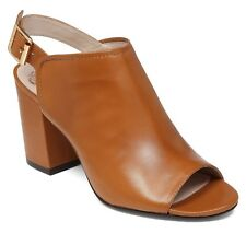 Vince Camuto Brianny Slingback Block Heel Shootie, Multip Sizes Fudge VC-BRIANNY
