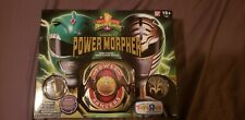 Power Rangers Legacy Morpher Green White Ranger Edition Bandai NEW Diecast